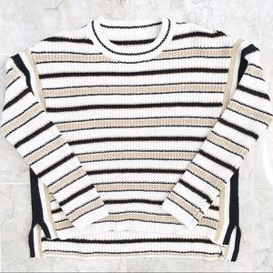 FINAL SALE Striped Knit Sweater
